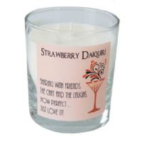 Dekassa Strawberry Daiquiri Cocktail Candle